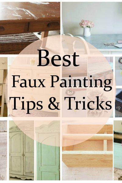 Best Faux Painting Tips Tricks