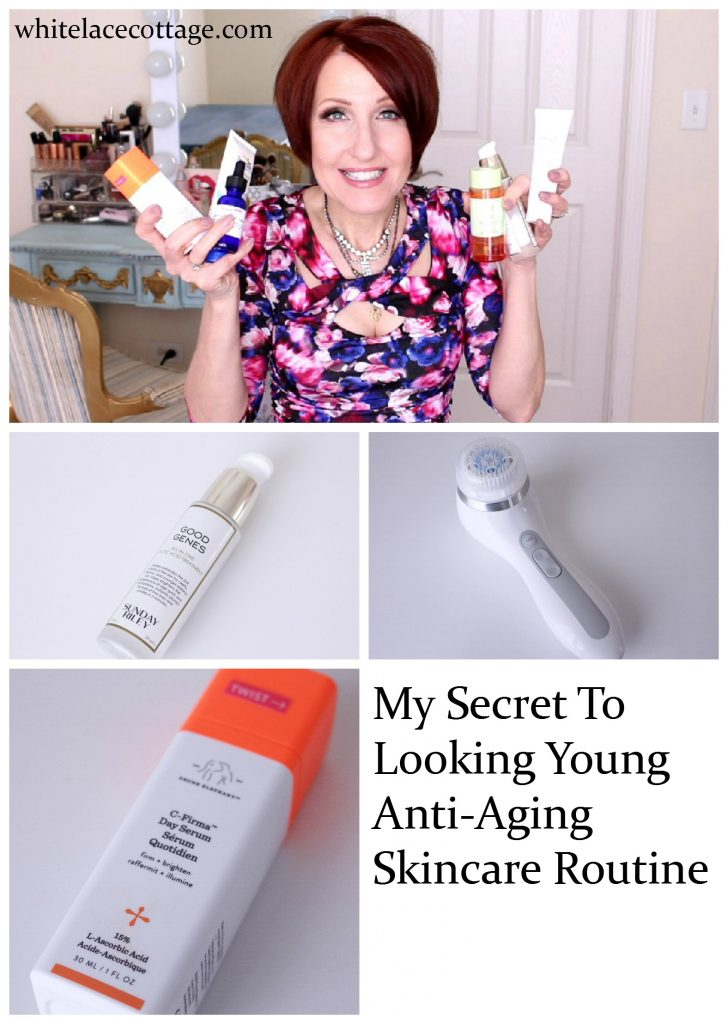 Anti-Aging Skincare For Women Morning Routine